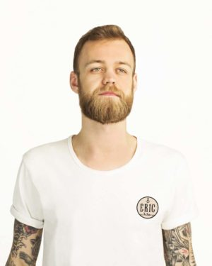 classic white t-shirt for men