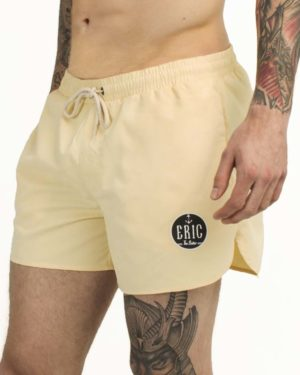 yellow swim trunks for men