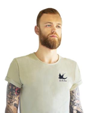 grøn t-shirt til herrer